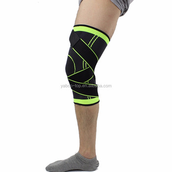6f7f50e27c 3D Weaving Pressurization Knee Brace Basketball Tennis Hiking Cycling  Support Professional Protective Sports Knee Pad