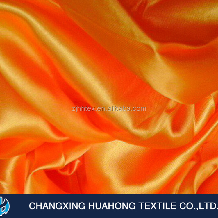 Fashionable 280cm 100%polyester satin fabric textle made by manufacturers curtain cloth