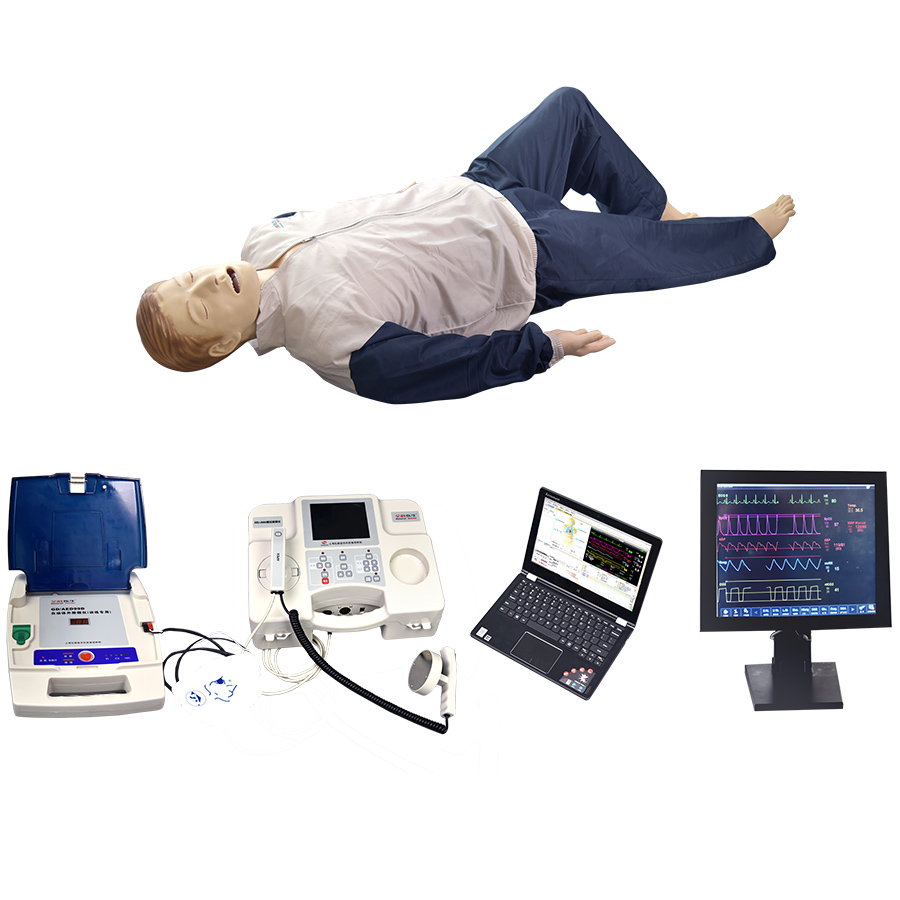 GD/ACLS8000C Comprehensive Emergency Training Simulator With Vital Signs