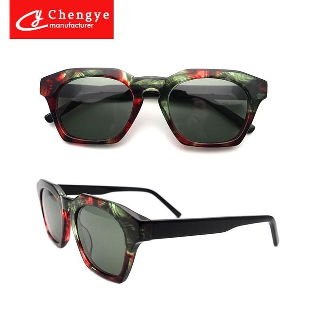 f3c34a3e615 China latest acetate sunglasses. products below. Latest Factory direct Hot  Sale High Quality Acetate CR39 TAC Polaroid UV400 Design Colorful Acetate
