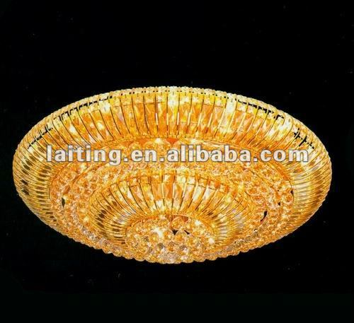 Home deco crystal ceiling light