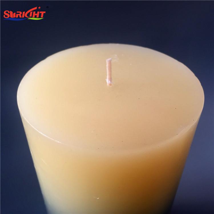 Gradient Layered American Craft Handmade Best Pillar Candles