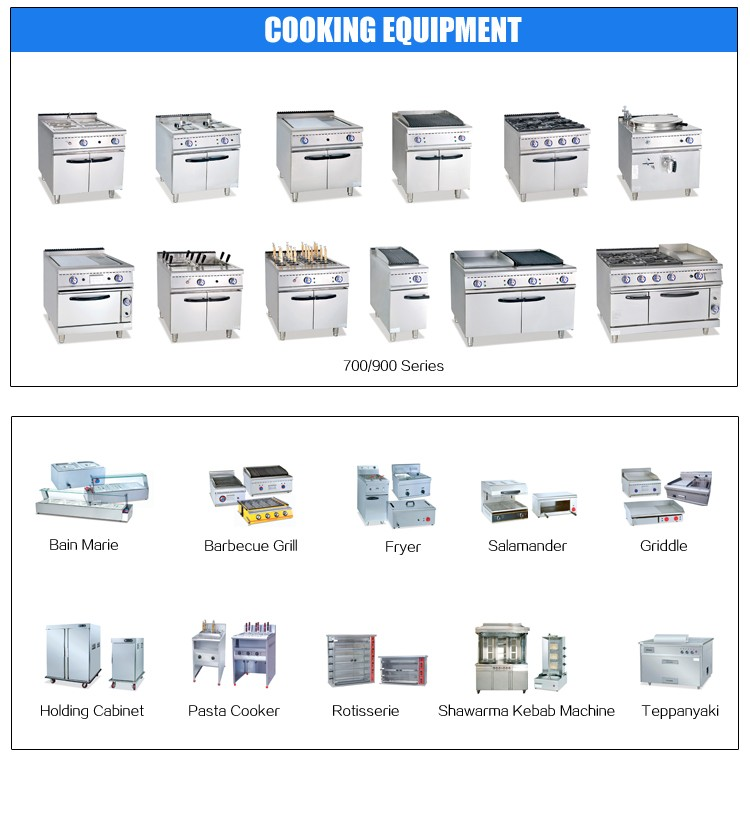 A-Z Series Commercial Kitchen Solution for Restaurant