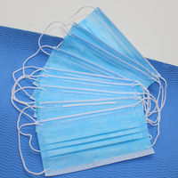 Disposable Medical Dust Mouth Surgical 3-Ply Face Mask Bacterial Filter Respirator Masks For Personal Medical 3colors