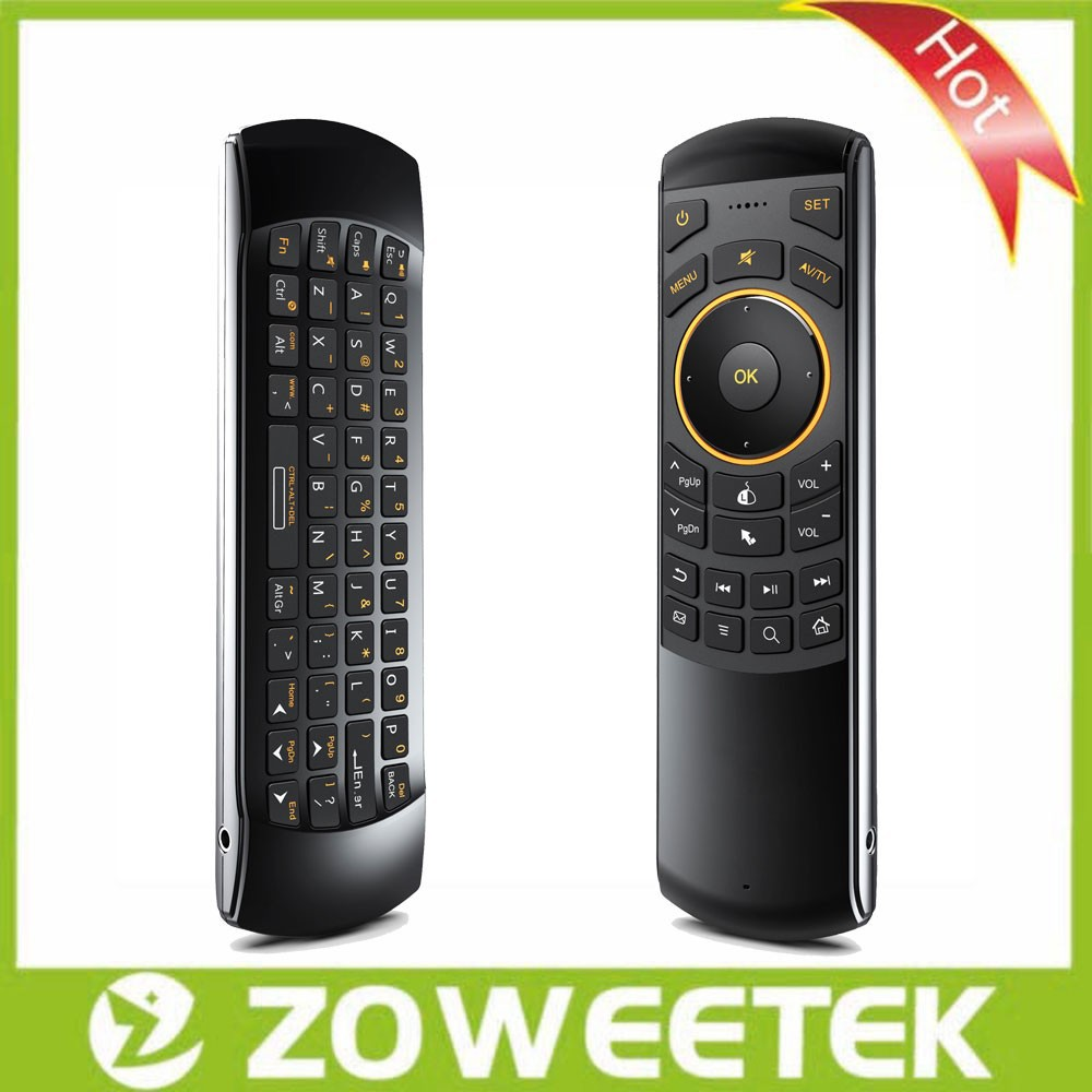 Rii Mini I25 Air Mouse With Ir Learning Remote Control For Hisense ...