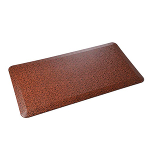 PU leather popular anti fatigue soft garage floor mats