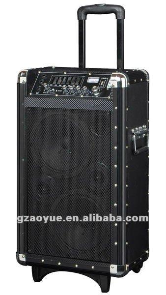Double 8-inch Active Speaker 12v