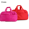Hot Sale Pink Durable Nylon Waterproof Material Expandable Zipper Soft Lining Tote Bags