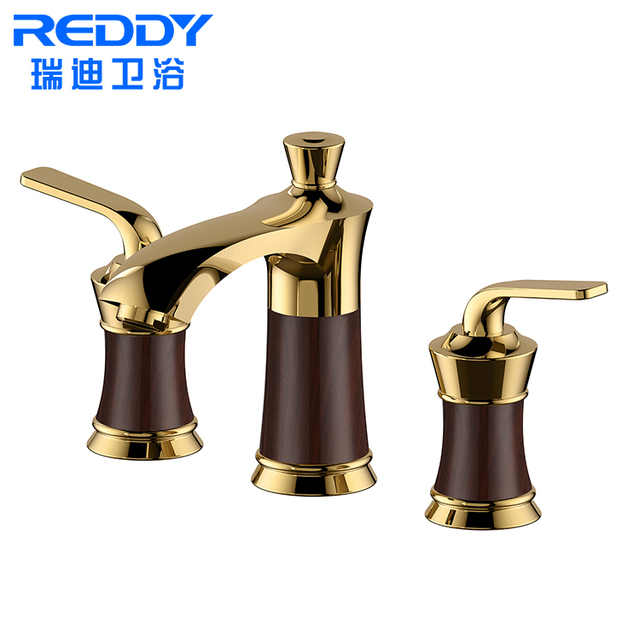 Reddy Sanitary Ware Luxury Brass Bathroom Accessories Water Tap Basin Faucet