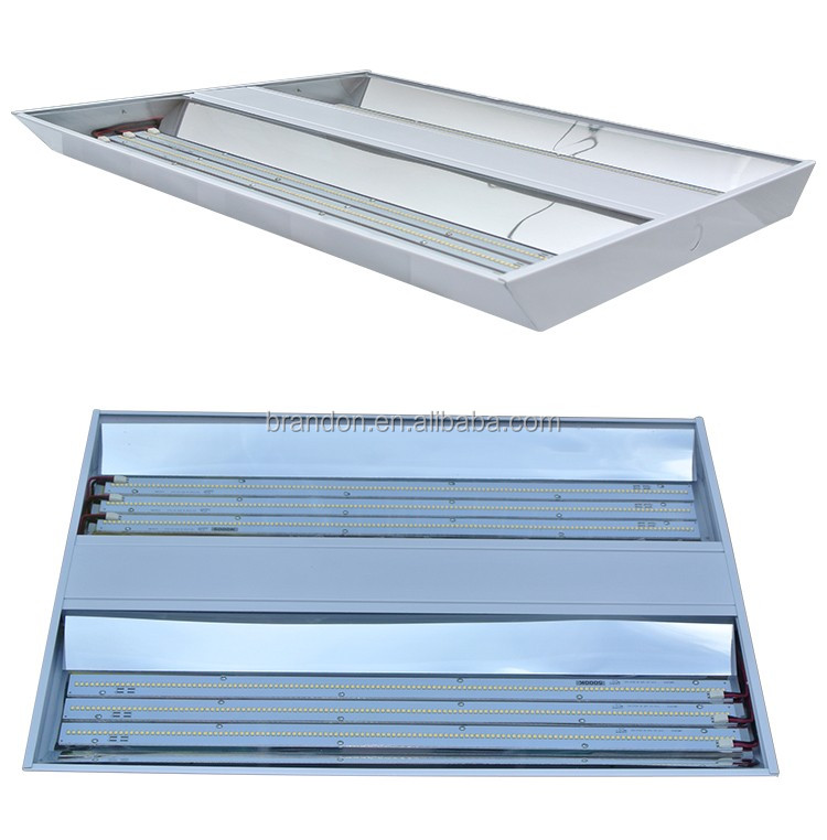 5 Years Warranty Constructed of die-formed heavy gauge cold rolled steel linear high bay light led