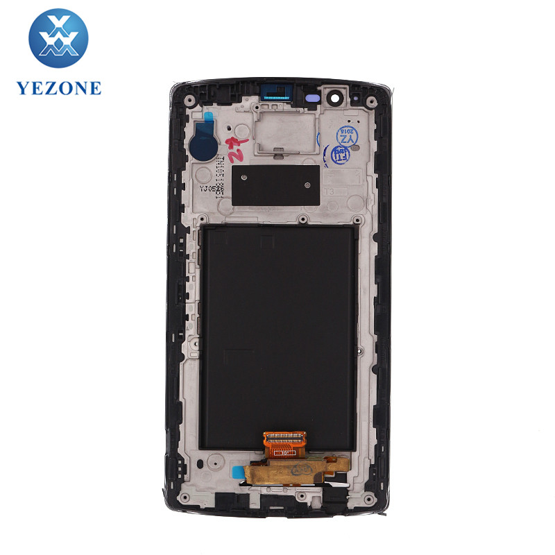 Original LCD Screen With Frame For LG G4 H810 H811 H815 VS986 LS991 F500L, LCD Touch Screen For LG G4 Display