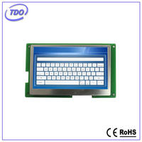 lcd monitor HMI 4.3 TFT display with pcb atuomatic vending machine