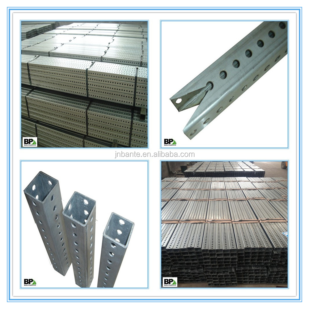 A 2  square tube of 14 gauge galvanized steel square sign post. A 2  Square Tube Of 14 Gauge Galvanized Steel Square Sign Post