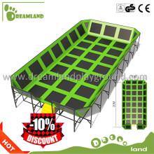 Amusement exersice equipment biggest trampoline outdoor