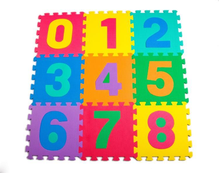 Image result for cijferpuzzel van foam