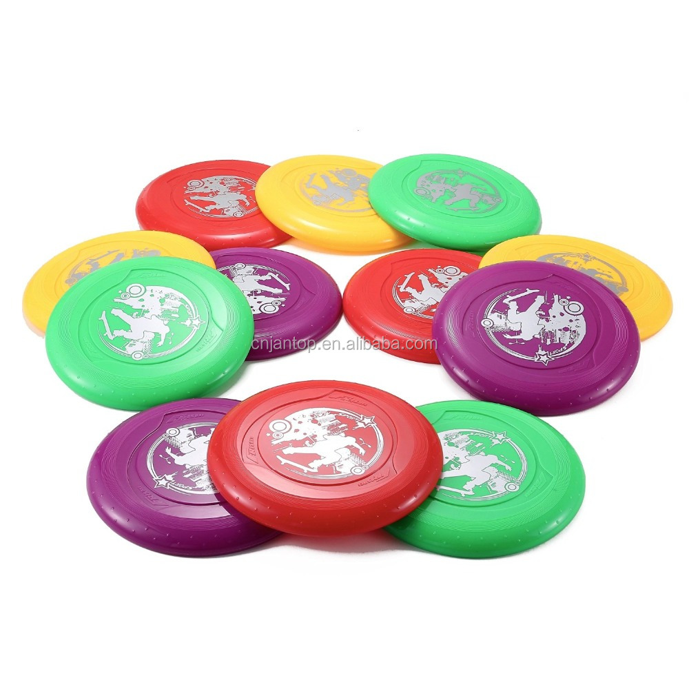9 inch Plastic Flying Sports Discs Round