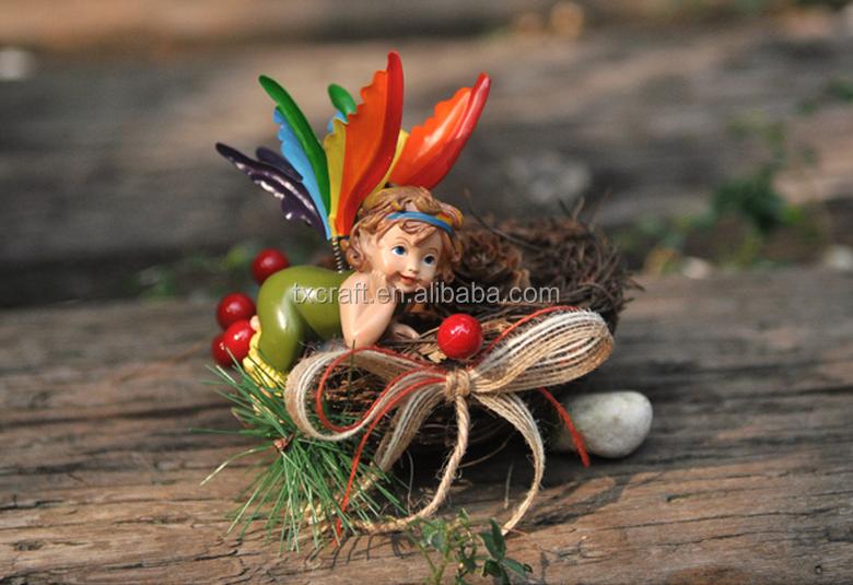 Tuin Accessoires Goedkoop : Hars leuke fee beeldjes tuin miniaturen ornament accessoires