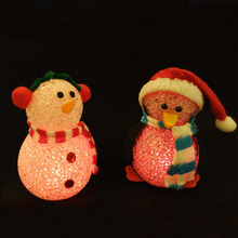 Promotional Christmas LED Light small novelty party gifts
