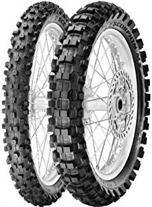 Pirelli Scorpion MX eXTra J Tire - Front - 70/100-17 , Position: Front, Tire Size: 70/100-17, Rim Size: 17, Load Rating: 40, Speed Rating: M, Tire Type: Offroad, Tire Application: Intermediate 2134400