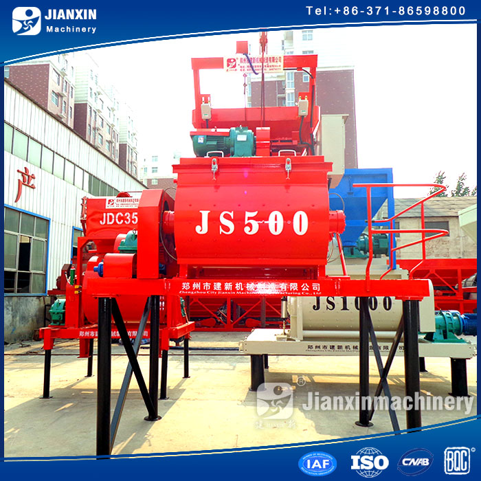 impeccable factory supply portable concrete mixer with plastic drum