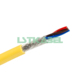 5 Core 0.2mm Tinned Copper Wire Shielding Flexible Signal Cable