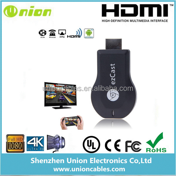 EZcast V5ii Smart <strong>TV</strong> <strong>Stick</strong> Media Player Wireless Miracast <strong>Dongle</strong> HDMI Airplay