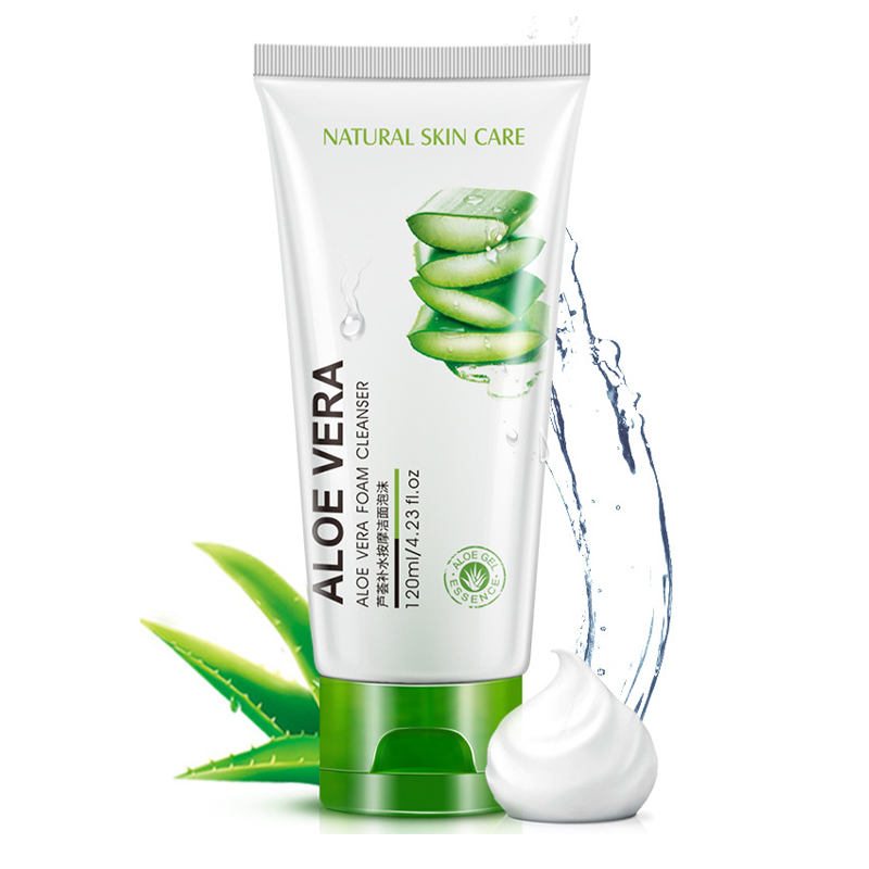 wholesale private label rorec natural moisturizing cleanser aloe vera best face wash for dry skin