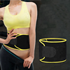 Adjustable custom waist trimmer belt