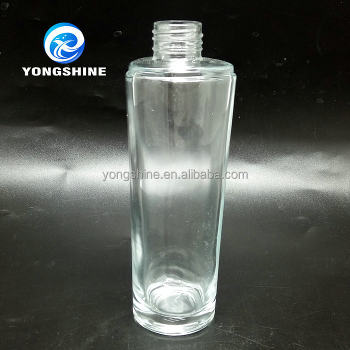 wholesale 140ml cream glass jars cosmetic lotion bottle with pump <strong>spray</strong> wholesale