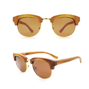 6ef44cb44c50 W43 2018 Private Brand Wholesale Luxury Bamboo Custom Polarized Mens Sunglasses  Wood Eyeglasses with Your Own