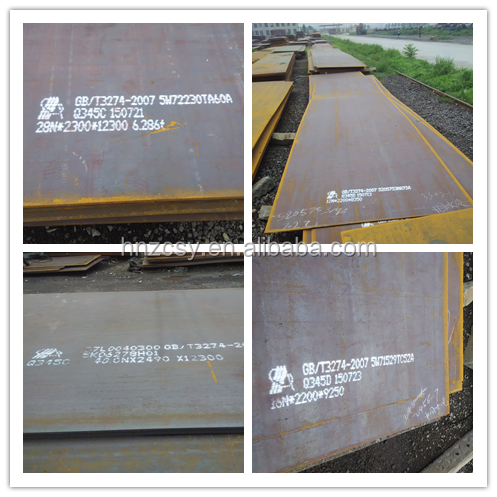 HNZCSY S355JR,S355J0,S355J2,S355K2 low Alloy Steel Plate