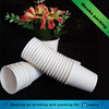 4oz 6oz 230gsm single wall stackable disposable paper cups for hot coffee drinks