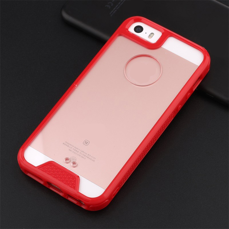Silicone Clear Case for iPhone 5SE 5S 5C Cover for Boys and Girls