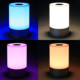 LED 3w variable chargeable indoor room touch senor mood lamp light