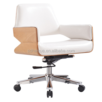 Modern Swivel Plywood Office Chair Modern Office Furniture Seat Height  Adjustment Shrimp Leather Chair - Buy Plywood And Leather Office  Chair,Modern ...