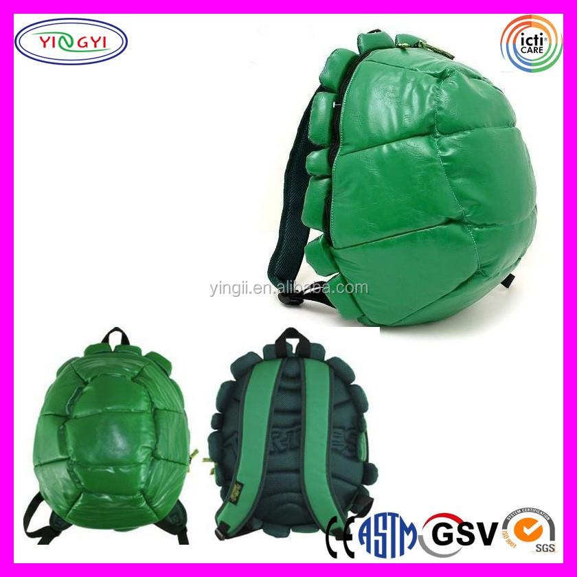 B233 Softshell Rucksack Schildkröte Grün Plüsch Kinder Buch Tasche ...