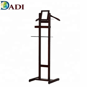 Wooden Hotel Display Stand Hanger For Suit Clothes