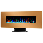 "42"" China Comparetitive Price with Yellow color Wall Mounted Electric Fireplace"