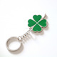 2019 Wholesale custom made four leaf clover keychain