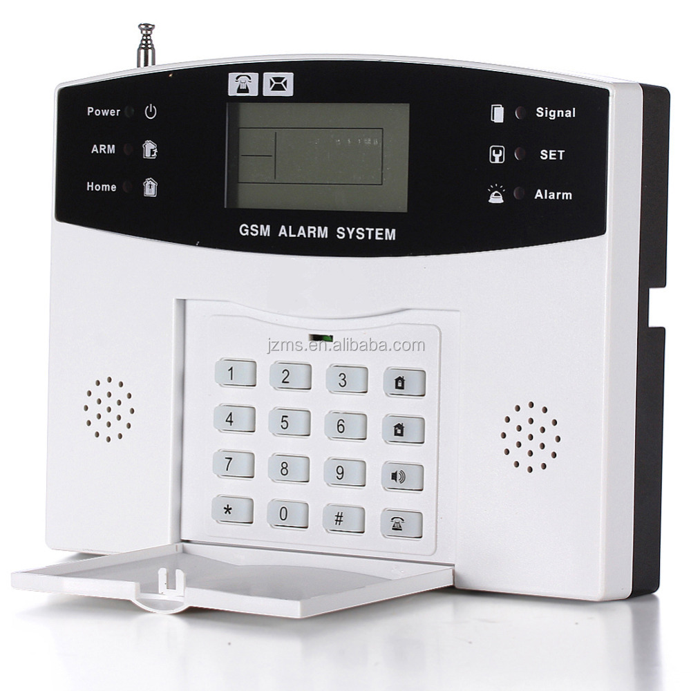 8 Wired+98 Wireless Zone Home Burglar Security GSM Alarm System with GSM Auto Dial Alarm System
