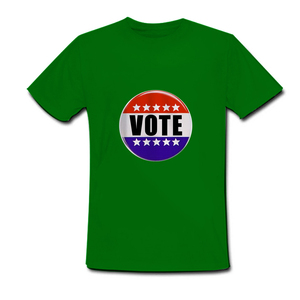 custom cheap male promo election tshirt printing for Africa Philippines Nigeria Malawi