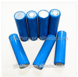 China supplier 18650 3.7v 800mah 1500mah li-ion battery 3000mah with battery cable for torch light