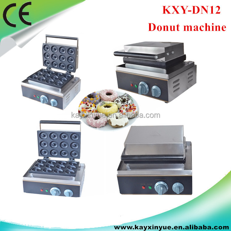 Home Used Donut Making Machine Stainless Steel Mini Donut Maker