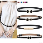 Belt woman fine decoration with skirt fashion lady versatile skirt belt belt female version PU Leather waist band