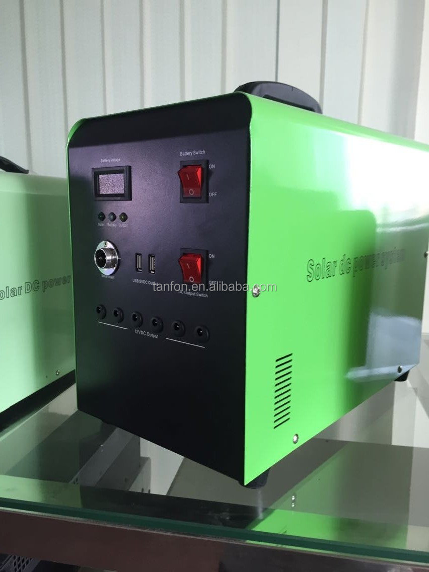 Stand Alone Home Solar Kit 40W 60W 80W 100W/100W Off-Grid Solar Power