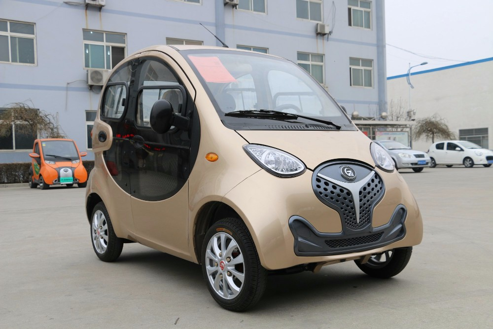 China manufacturer 4 wheel passenger vehicle cheap for Electric car motor manufacturers