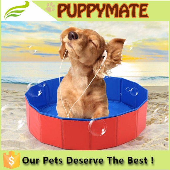 Wholesale Inflatable Dog Pool Outdoor Pets Swimming Water Summer Pool
