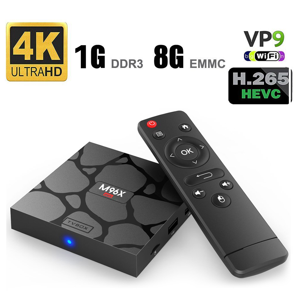 Factory direct Android 6.0 Marshmallow S905X stream tv box M96X MINI ultra HD 4k android smart tv box with competitive pric