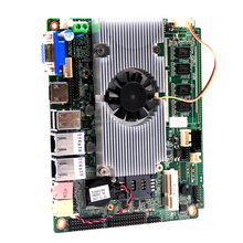 intel Atom d2550 mini 3.5inch motherboard with PCIE, mini pcie slot for POS, ATM, Advertising, etc