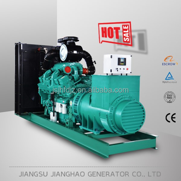 Offer Spare Parts and Warranty service diesel generator 1000kva with cummins engine KTA38-G2A